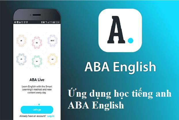 Ứng dụng học tiếng anh ABA English