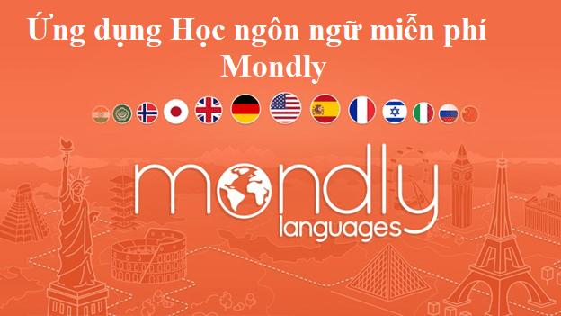 Ứng dụng Học ngôn ngữ miễn phí Mondly