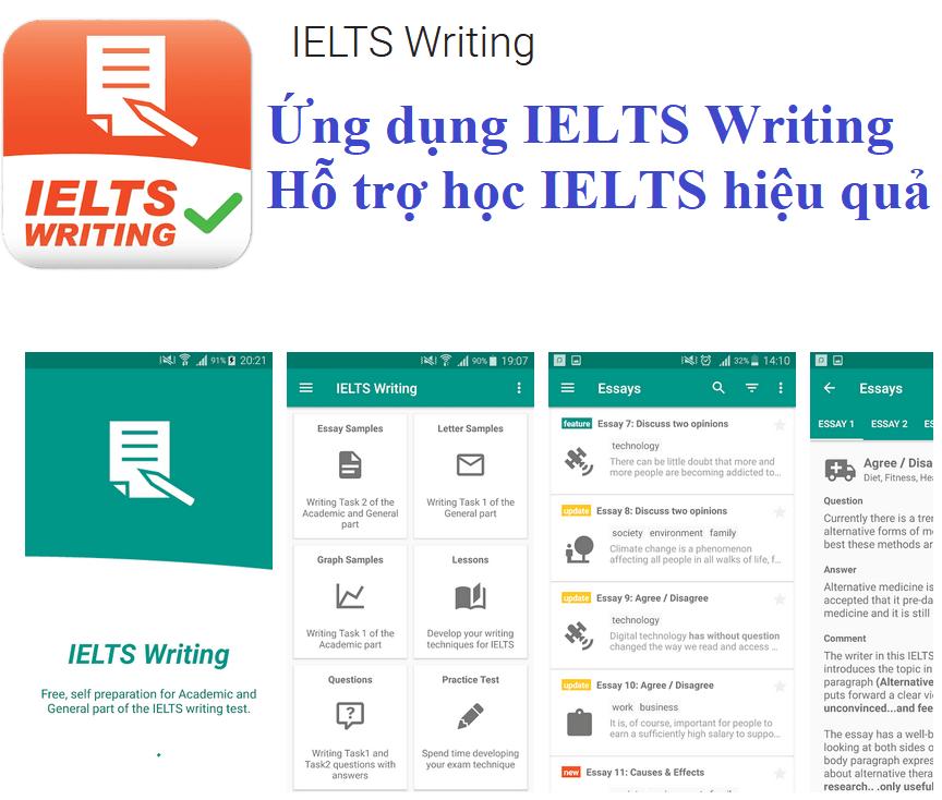 Ứng dụng IELTS Writing