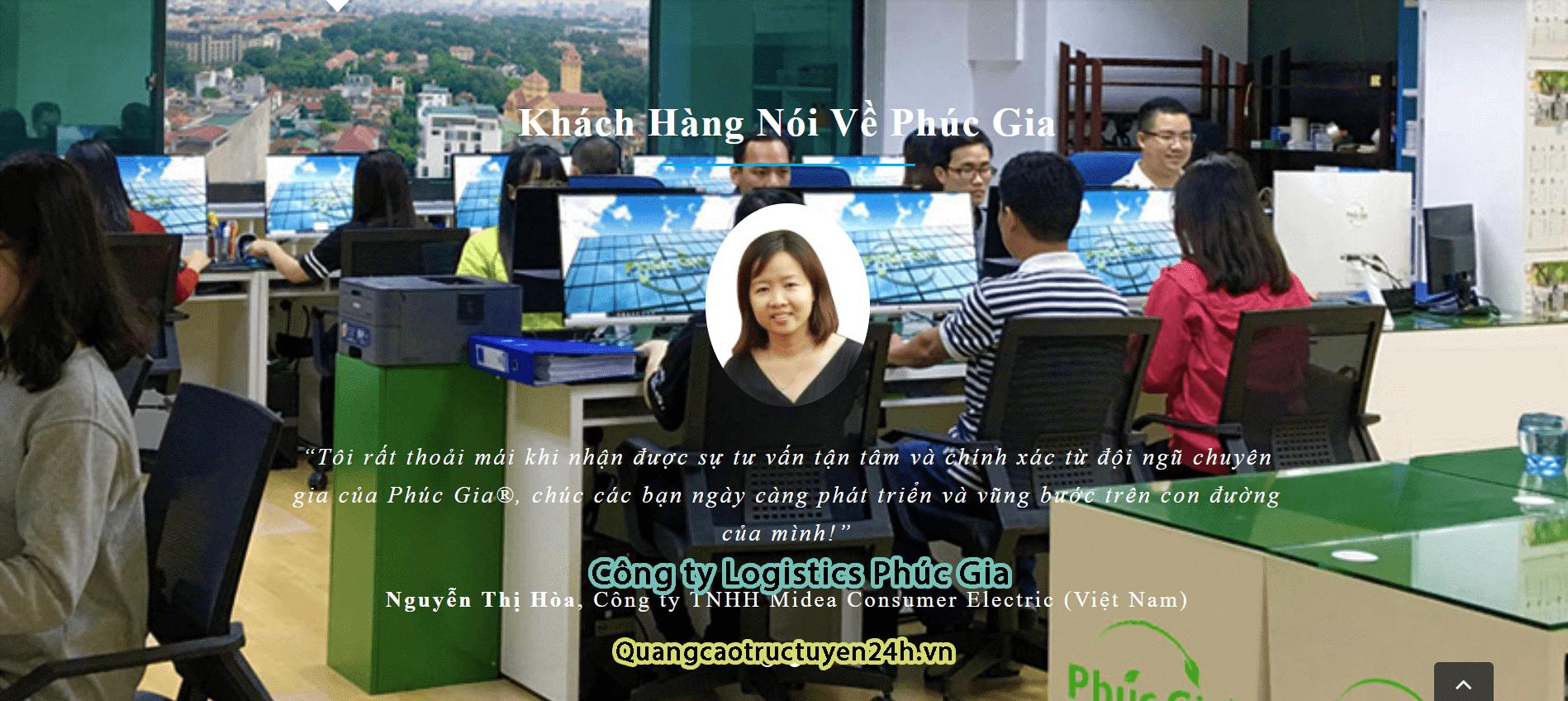 Phuc Gia Union Corporation – Công Ty Logistics Tại Hà Nội