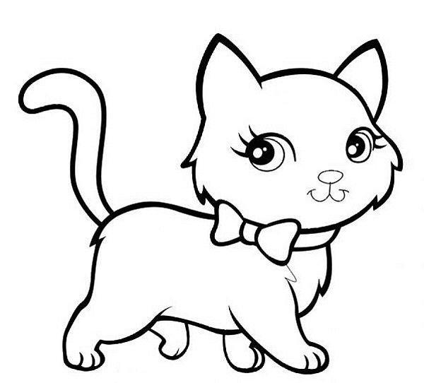 Hình tô màu động vật cho bé - 03
