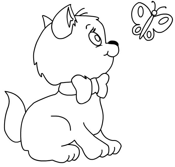 Hình tô màu động vật cho bé - 06